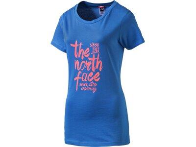 THE NORTH FACE Damen Shirt W SINCE 1968 TEE Blau
