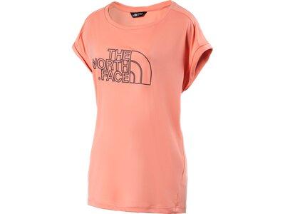 THE NORTH FACE Damen T-Shirt Extent II Orange