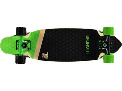 BRUNOTTI Skateboard Billy Longboard Schwarz