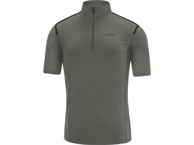 GORE Herren Zip Shirt Grau