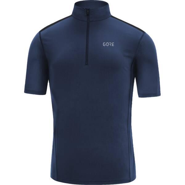 GORE Herren Zip Shirt | Bekleidung > Shirts > Sonstige Shirts | Dunkelblau | GORE WEAR