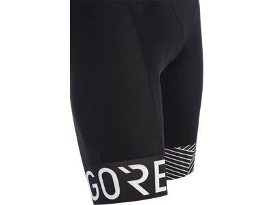 GORE® C5 Opti Kurze Trägerhose+ Schwarz