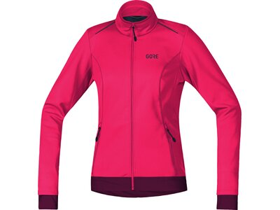 GORE Damen WINDSTOPPER Thermo Jacke JWELML Pink