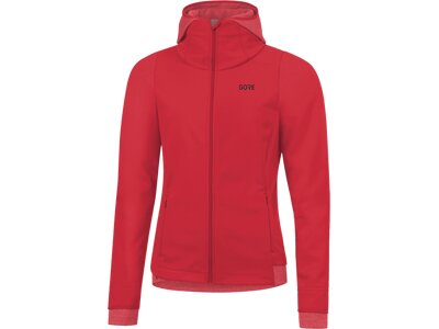 GORE Damen WINDSTOPPER Thermo Hoodie SWHSUN Pink