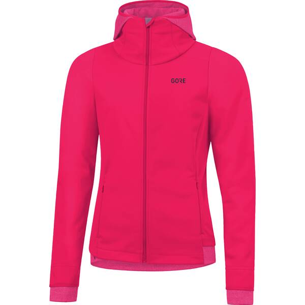 GORE Damen WINDSTOPPER Thermo Hoodie SWHSUN