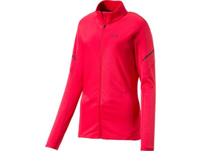 GORE® M Women Thermo Zip Shirt langarm Pink