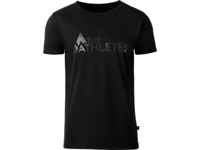 THE ATHLETES Herren Shirt Marius Schwarz