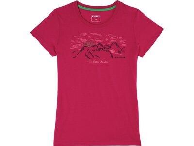 ICEPEAK Damen T-Shirt Beddington Rot