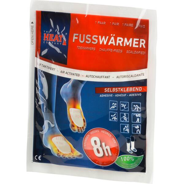 THE HEAT COMPANY Fusswärmer 3er Pack