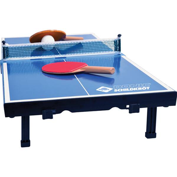DONIC SCHILDKRÖT Tischtennis Minitisch-Set MINI