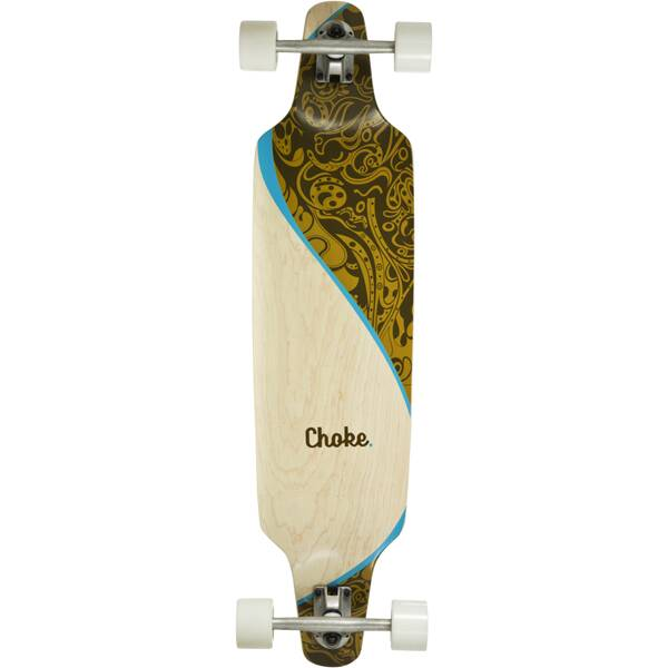 CHOKE SKATEBOARDS Longboard SWING 38x9,25