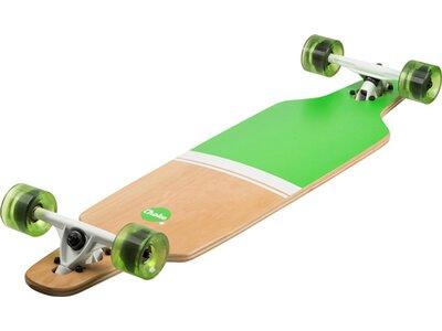 CHOKE SKATEBOARDS Longboard Grün