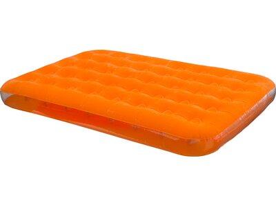 BESTWAY Badeartikel Luftbett Fashion Flock Double Orange