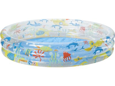 BESTWAY Aufblasbarer Pool Deep Dive 3-Ring Blau