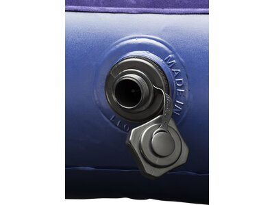BESTWAY Matte Luftbett Single Velour Pump Blau