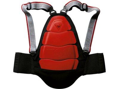 DAINESE Schoner Rückenprotektor Kid Shield 6 Jr. Rot