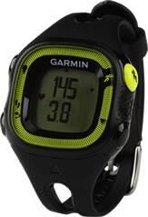 GARMIN Laufuhr Forerunner 15 Schwarz / Grün (Standard) mit Herzfrequenz-Brustgurt