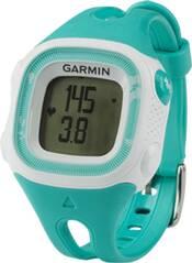 GARMIN Laufuhr Forerunner 15 Türkis / Weiß (Standard) mit Herzfrequenz-Brustgurt