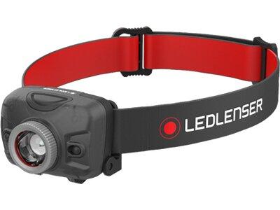LED LENSER STIRNLAMPE H300 Schwarz