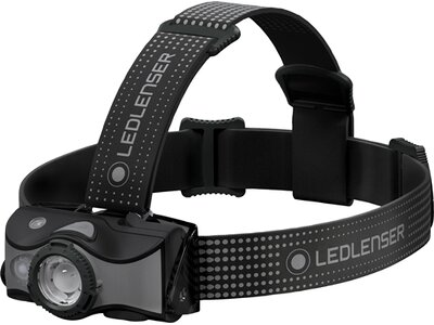 LEDLENSER Stirnlampe MH7 Schwarz