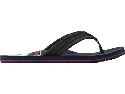"REEF Herren Zehensandalen ""Waters Blue Palm"" Blau"