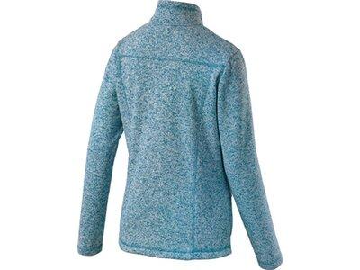 McKINLEY Damen Fleece-Jacke Rubin III Blau