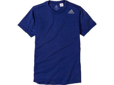 ADIDAS Herren T-Shirt FreeLift Stripe Blau