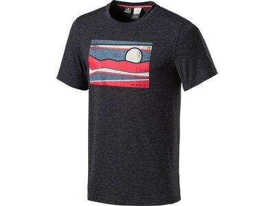 McKINLEY Herren T-Shirt Barker Schwarz