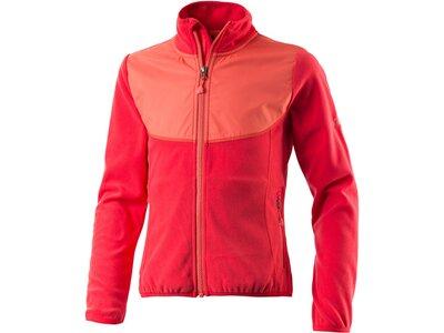 McKINLEY Kinder Fleece-Jacke Boots II Rot