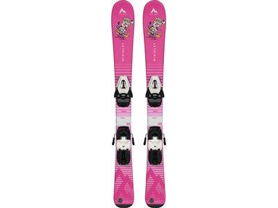 McKINLEY Ski-Set Skitty Schraubbindung Pink