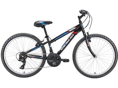 "NAKAMURA Kinder Mountainbike Booster 24"" MTB Schwarz"