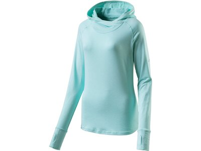 PRO TOUCH Damen T-Shirt lang Hooded Cala Blau