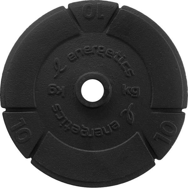ENERGETICS Hantelscheiben Gusseisen 1 x 10 kg, 1 x 15 kg oder 1 x 20 kg