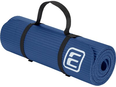"ENERGETICS Fitnessmatte / Gymnastikmatte ""NBR Professional"" Blau"