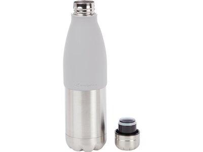 ENERGETICS Trinkflasche Metal 0.5L TWIST Grau