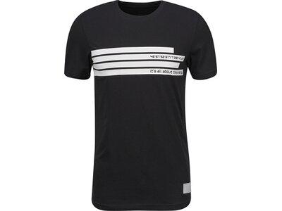 ENERGETICS Herren T-Shirt Argente III Schwarz