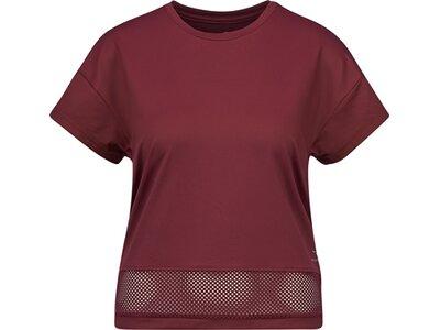 ENERGETICS Damen T-Shirt Lauren Rot