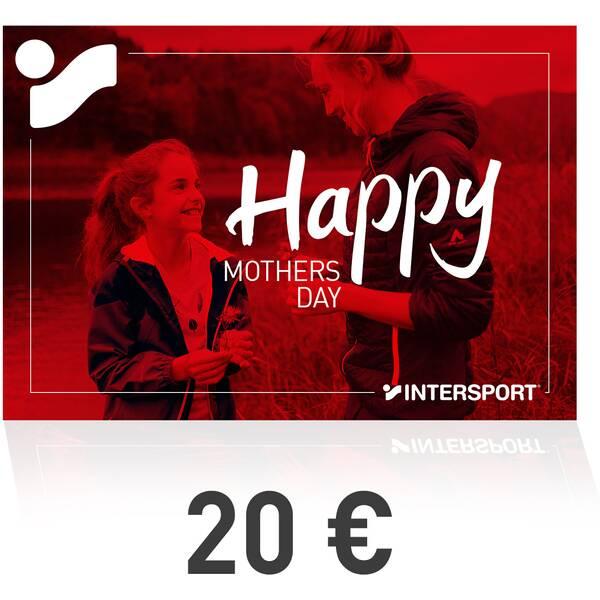 INTERSPORT Druckmaterial Gutschein zum Ausdrucken - Muttertag 2021