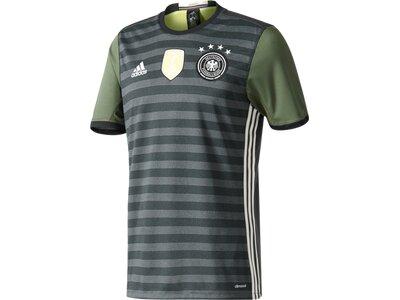 ADIDAS Herren Trikot UEFA EURO 2016 DFB Auswärts Replica Grau