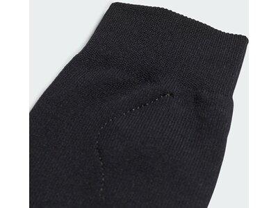 ADIDAS Schoner Socken mit integrierten Schienbeinschonern Schwarz