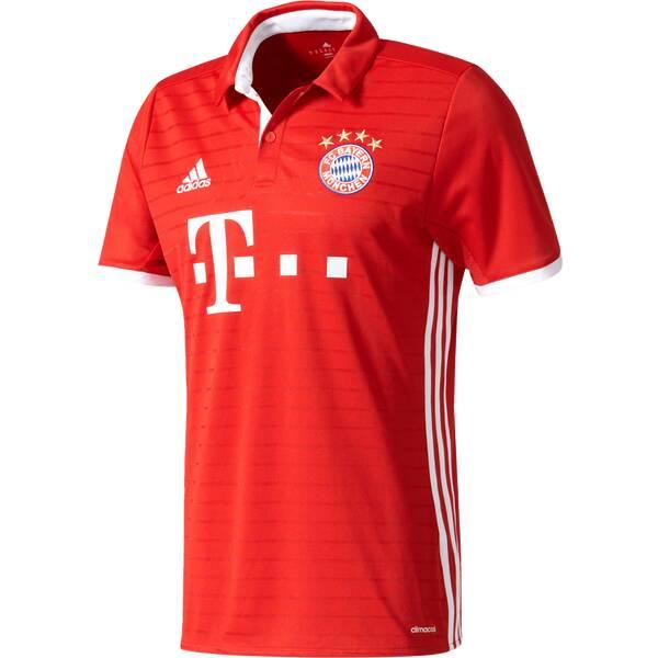 ADIDAS Herren Trikot FC Bayern München Heim 16-17 Replica Rot