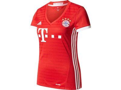 ADIDAS Damen Trikot FC Bayern München Heimtrikot Replica Rot