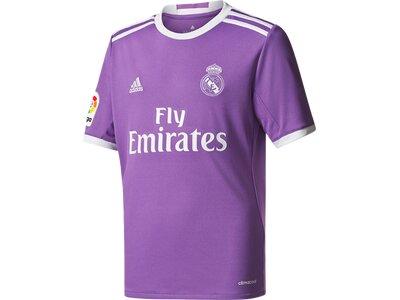 ADIDAS Kinder Trikot Real Madrid Auswärtstrikot Replica Lila