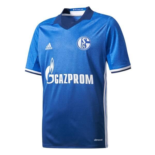 ADIDAS Kinder Trikot Schalke 04 Heim Replica Blau