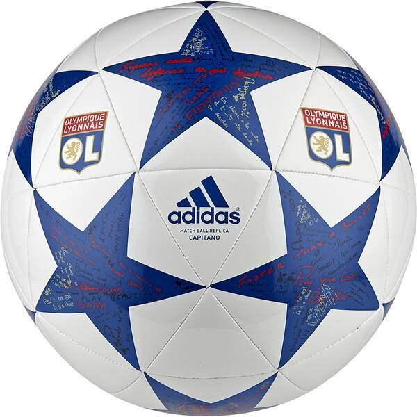 ADIDAS Fußball Finale 16 Olympique Lyon Weiß