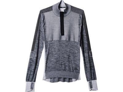 ADIDAS Herren Primeknit Sweatshirt Grau