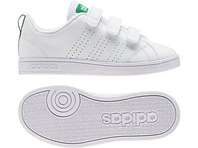 ADIDAS Kinder Freizeitschuhe Advantage Clean Schuh Grau