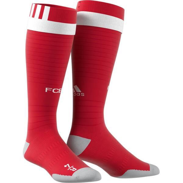 ADIDAS Herren Fußballsocken FC Bayern München | Sportbekleidung > Funktionswäsche > Fußballsocken | Red - White | ADIDAS