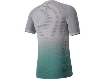 ADIDAS Herren Primeknit Wool Dip-Dye T-Shirt Grau