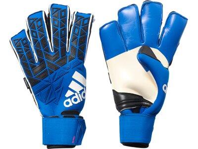 ADIDAS Herren Handschuhe ACE Fingersave Pro Torwarthandschuhe Blau